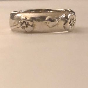 Authentic Tiffany & Co. Nature Rose (retired) ring